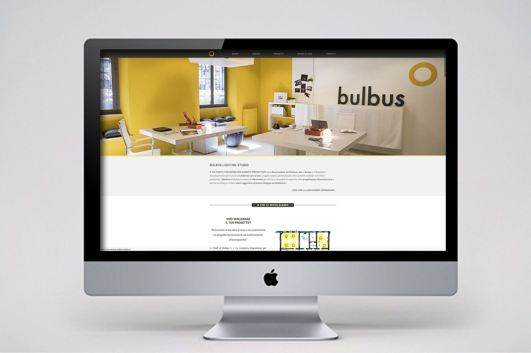 Web Site Index bulbus Lighting Studio