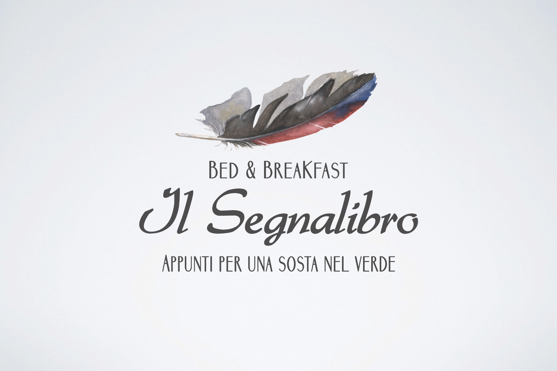 Imagotipo Il Segnalibro Bed and Breakfast realizzato da Alice Bottino Visual Designer