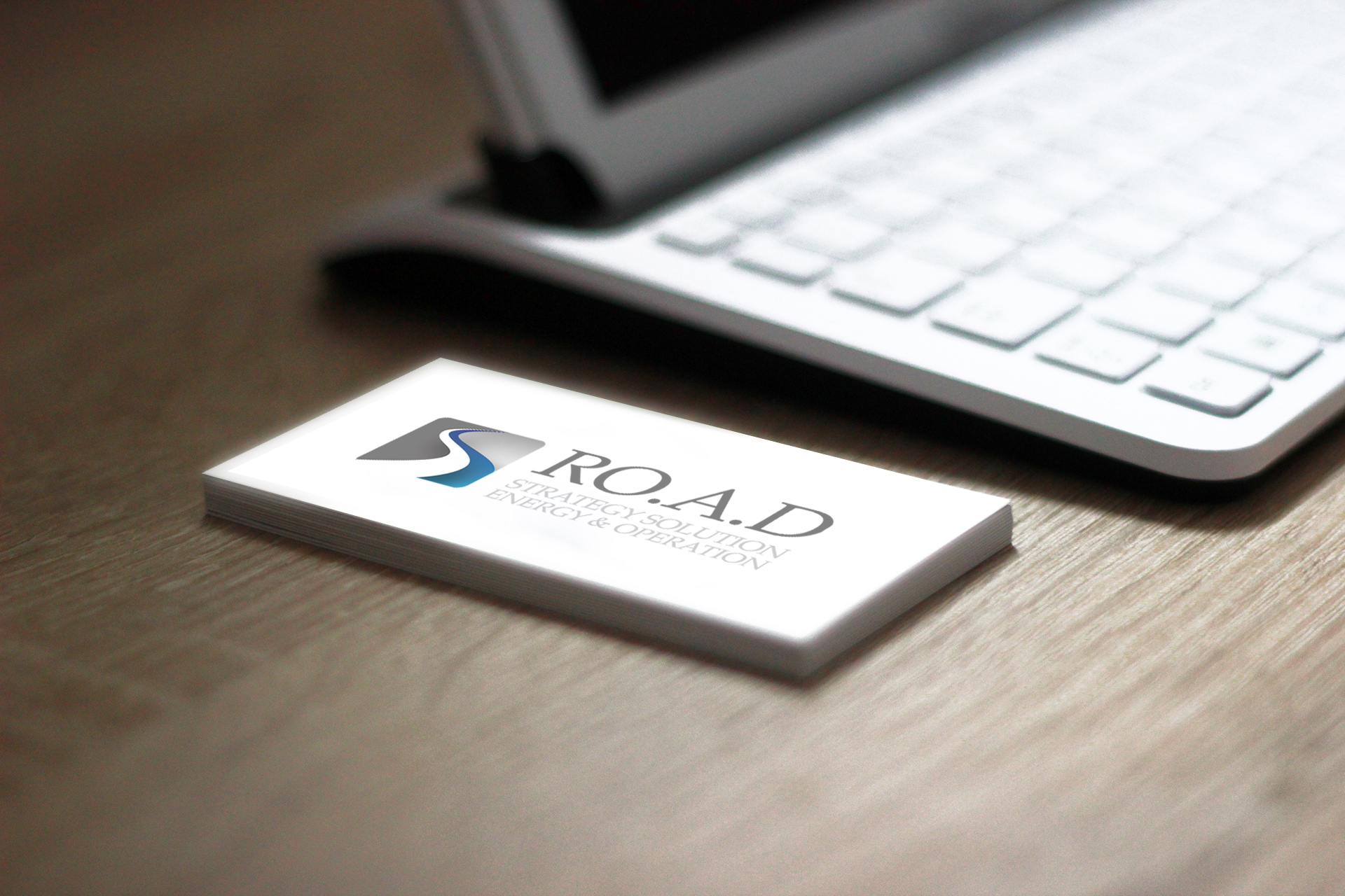 Business Card Road Strategy Solutions realizzato da Alice Bottino Visual Designer